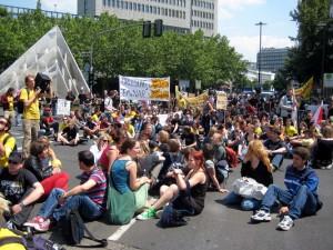 So viele Studenten die politisch aktiv sind, sind eher selten. Foto: Martin Knorr/jugendfotos.de