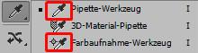 Pipette- & Farbaufnahme-Werkzeug