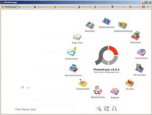 Eine weitere Freeware ist PhotoScape - mit erstaunlicher Funktionsbreite