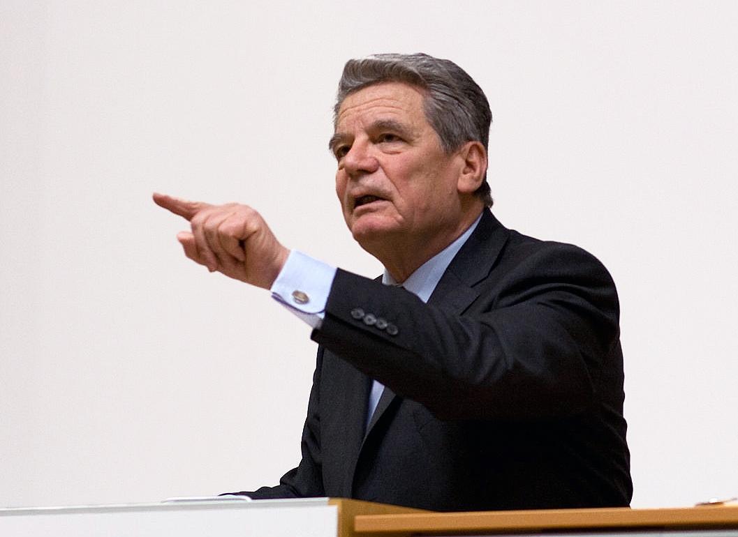 Bundespräsident Joachim Gauck, Autor: Sebastian Hillig, Lizenz: CC BY 2.0