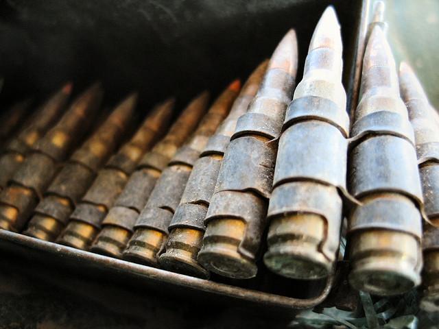 """Bild: """"7.62 Ammo in Macro"""" von  Jayel Aheram. Lizenz: CC BY 2.0"""