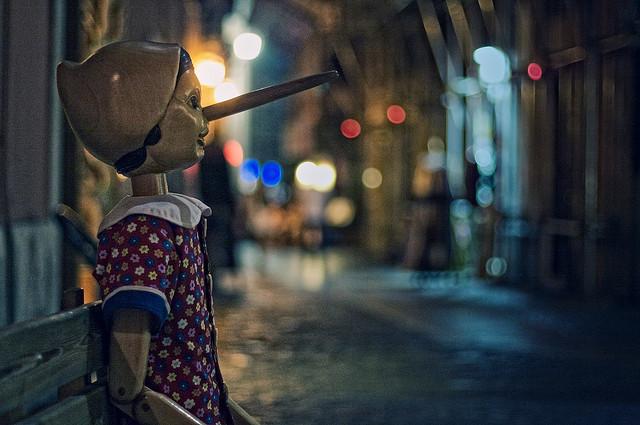 """Bild: """"Pinocchio"""" von  Michiel Jelijs. Lizenz: CC BY 2.0"""