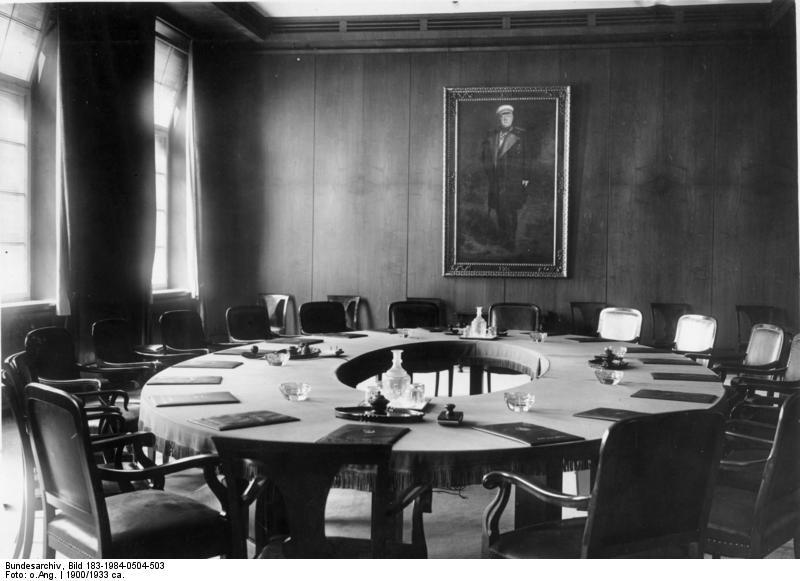Berlin, Alte Reichskanzlei, Kabinett-Sitzungssaal