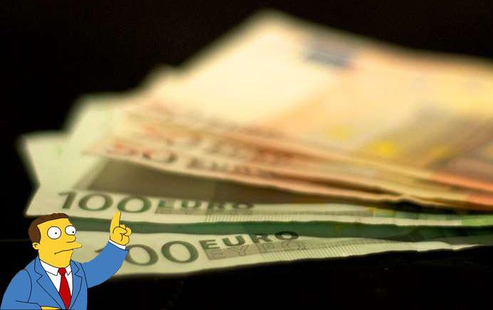 Euro-Scheine-2 von Maik Meid, CC BY 2.0 und My Accountant von Bill Alldredge, CC BY-SA 2.0