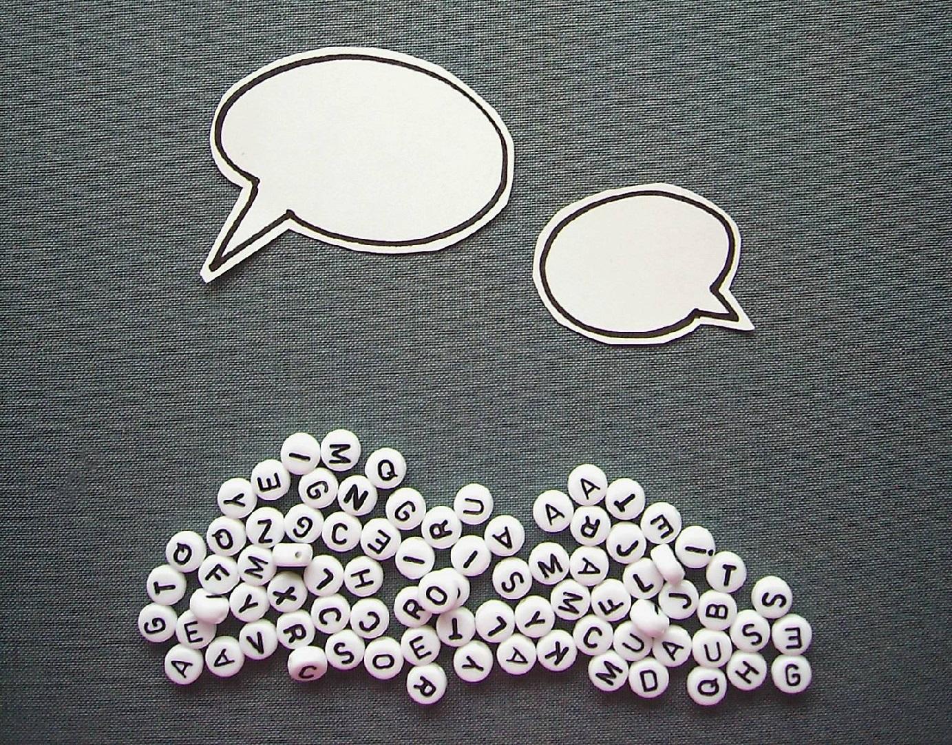 """Bild: """"Mir fehlen die Worte"""" von knallgrün. Quelle: Photocase"""