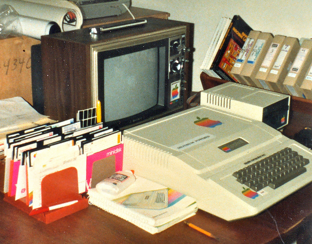 """Bild: """"my first computer"""" von Steve Jurvetson. Lizenz: CC BY 2.0"""