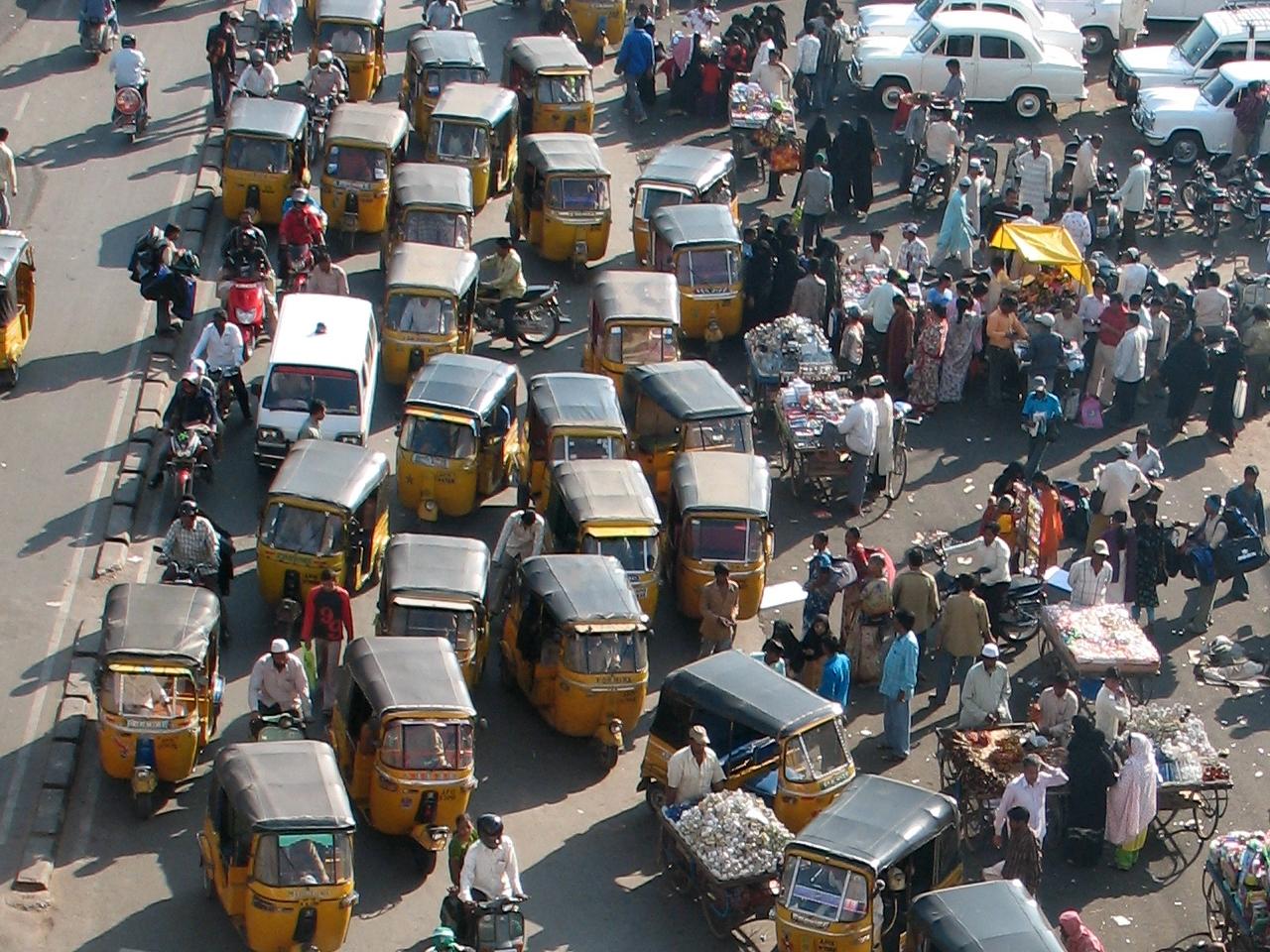 """Bild: """"Traffic"""" von  Alex Graves. Lizenz: CC BY SA 2.0"""