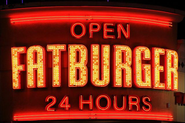 """Bild: """"fatburger"""" von  Rupert Ganzer. Lizenz: CC BY ND 2.0"""