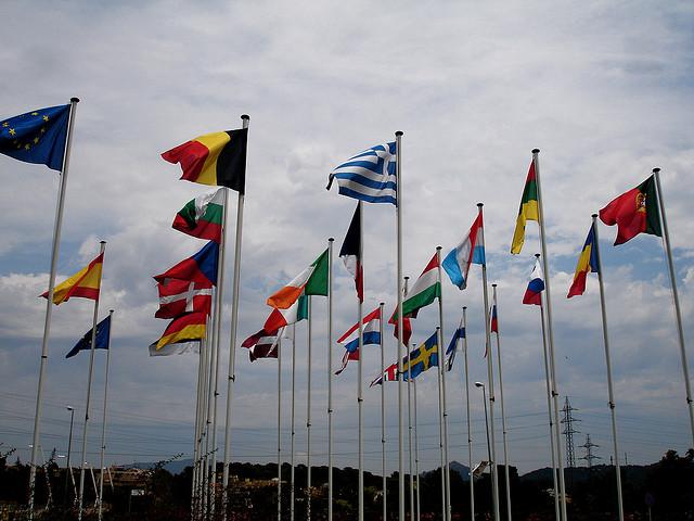 """Bild: """"Flags"""" von Börkur Sigurbjörnsson. Lizenz: CC BY 2.0"""