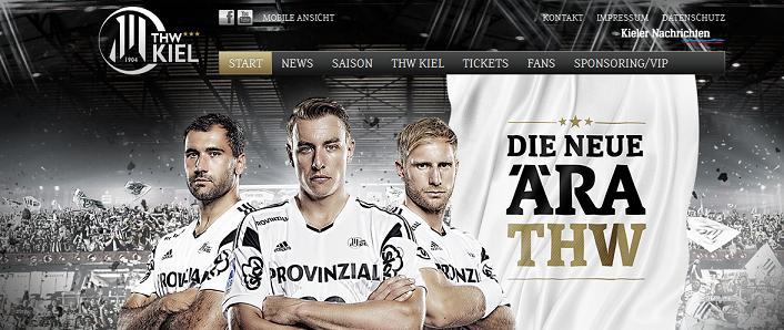 Kiel Homepage [screenshot]