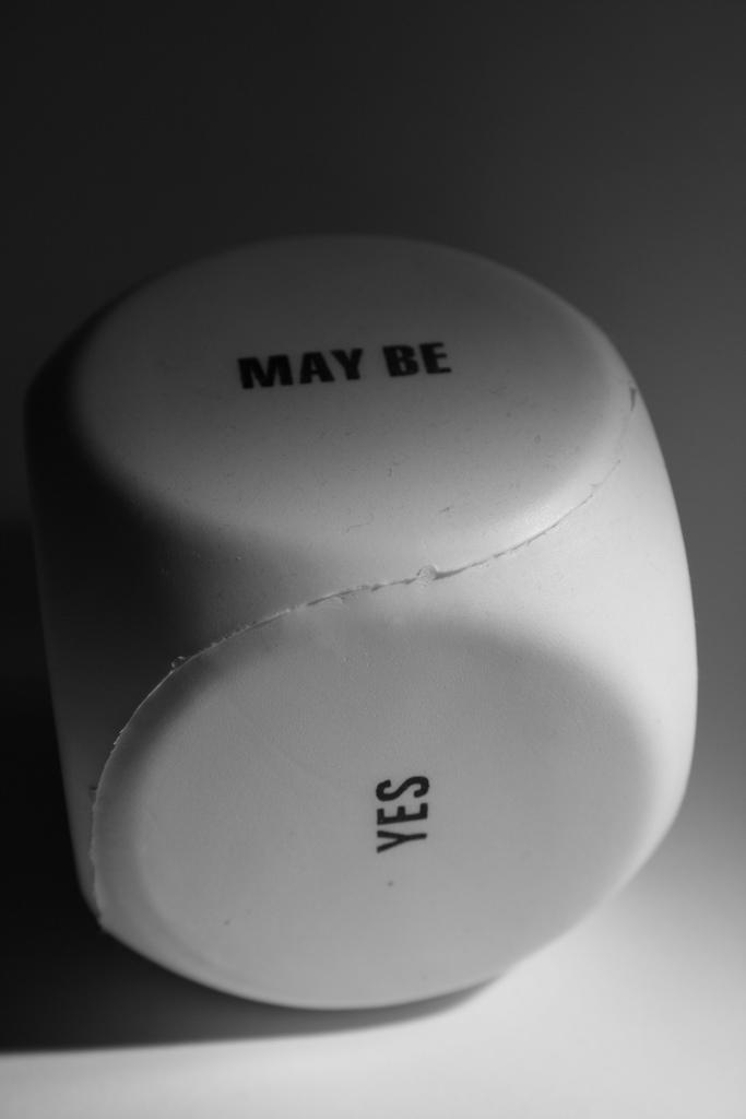 """Bild: """"Maybe Yes"""" von Jean-Etienne Minh-Duy Poirrier. Lizenz: CC BY 2.0"""