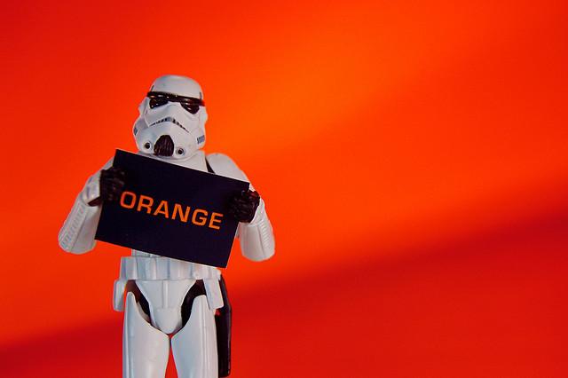 """Bild: """"Imperial Art Appreciation: Orange"""" von JD Hancock. Lizenz: CC BY 2.0"""