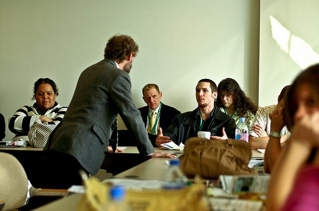 "Bild: ""Columbus Seminar"" von Joshua Rothhaas. Lizenz: CC BY 2.0"