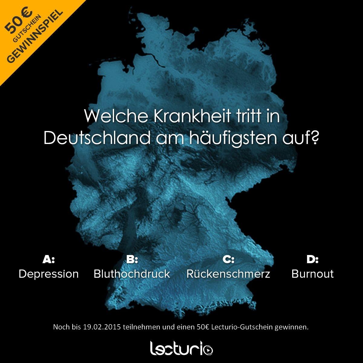 das ist ein quiz zu krankheiten in deutschland