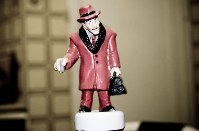das ist die figur eines gangsters