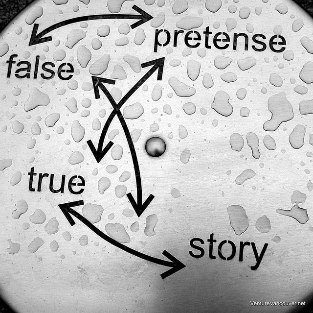 """Bild: """"true story"""" von Venture Vancouver. Lizenz: (CC BY-ND 2.0)"""