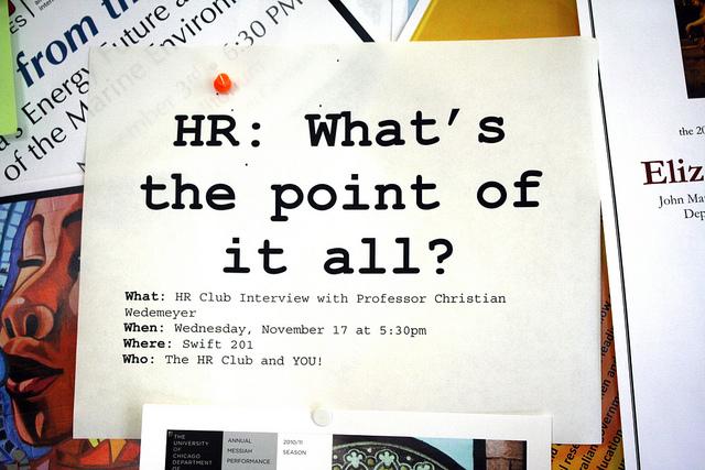 """Bild: """"Day 323: HR: What's the point of it all?"""" von Quinn Dombrowski. Lizenz: CC BY 2.0"""