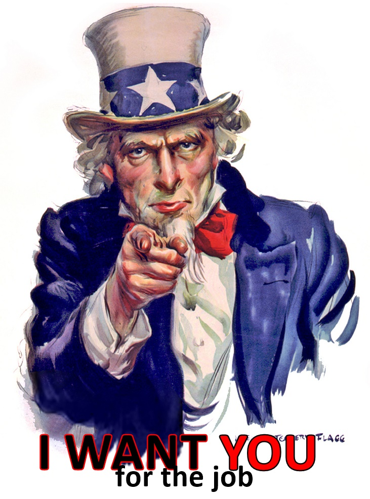 I want you for the job