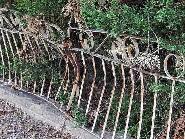 "Bild: ""Battered Fence"" von Michael Coghlan. Lizenz: CC BY-SA 2.0"