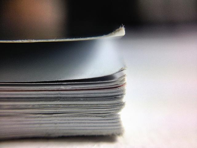 Bild: Papier ist geduldig 8/365 von Dennis Skley. Lizenz: CC BY 2.0