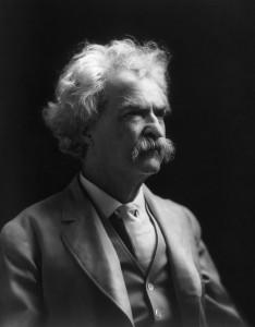 Marc Twain war ein großer Befürworter der Osteopathie