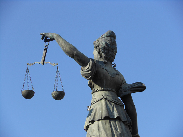 Statue Scales of Justice