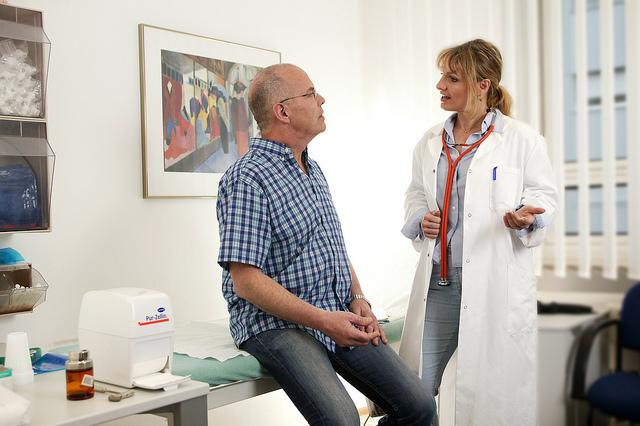 arzt patient gespräch
