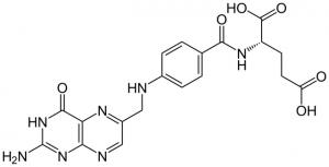 das ist die strukturformel von folsäure