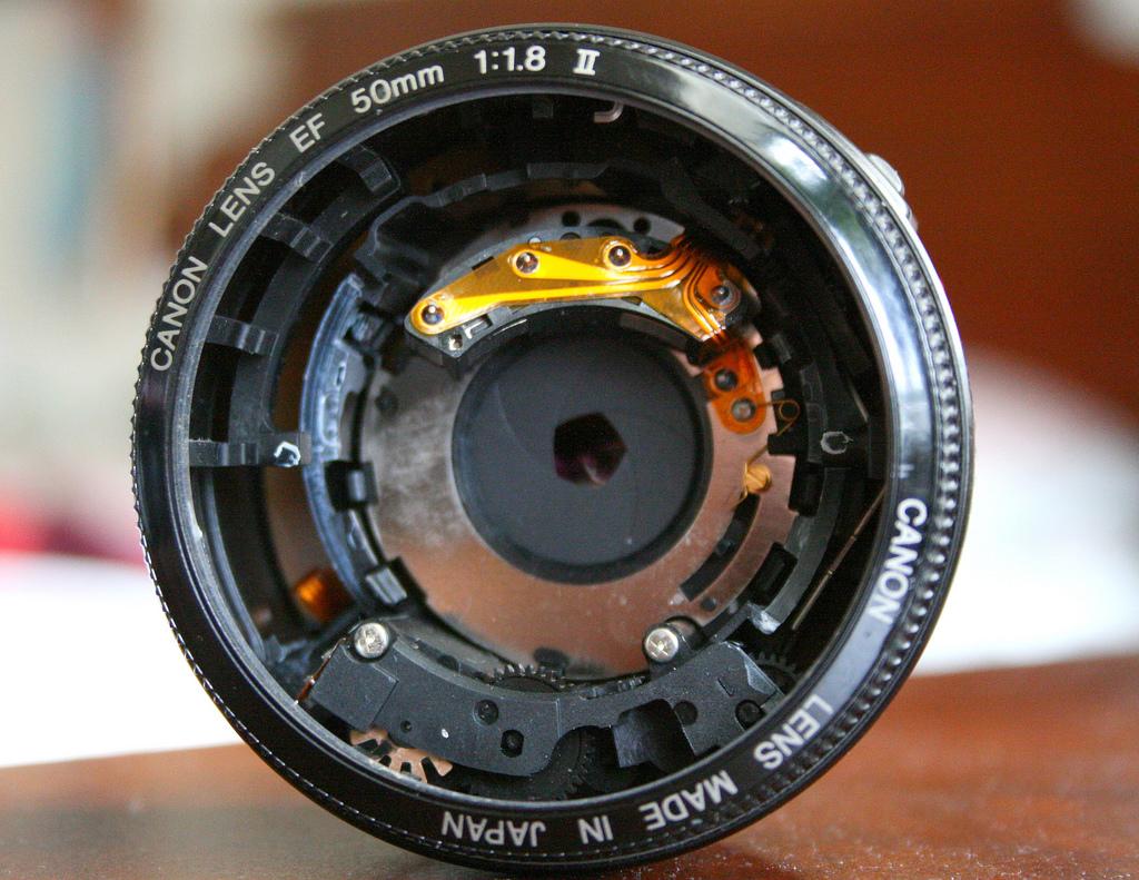 Broken lens