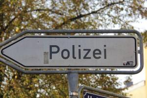 polizeiverkehrsschild